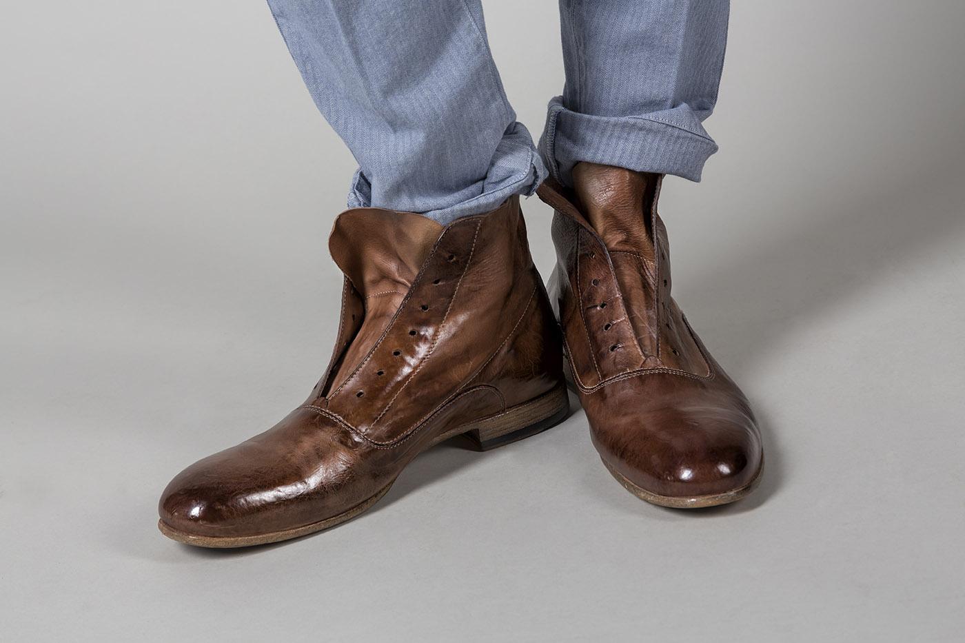 quality design 4d4bd 8db99 80418 scarpa allacciata ALEXANDER HOTTO RAVELLO calzatura uomo shoes men  [41]